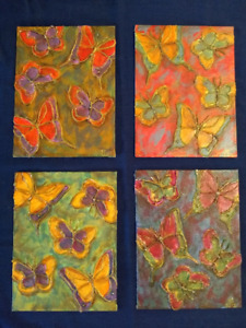 3D Butterfly Paintings