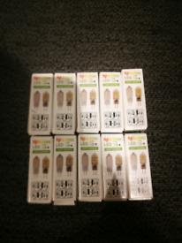 Ten LED g4 light bulbs