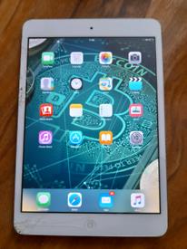 Apple iPad mini 1st gen 16gb smashed screen