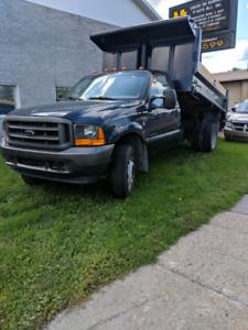 Ford F550 dumper - 7.3 Diesel