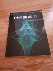 Nelson Physics 12 Study Guide Workbook Brand new
