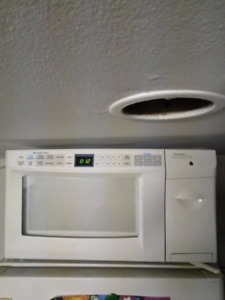 Microwave and toaster combo