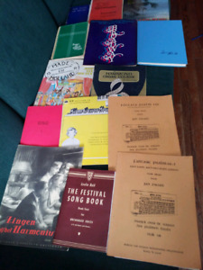 14 Assorted piano and organ books