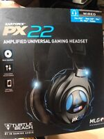 PX 22 amplified gaming headset SEALED