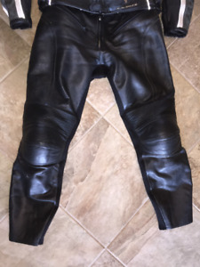 Leather Motorcycle Joe Rocket Pants with armour