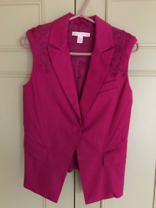 Matthew Williamson for H&M Vest - Bright Pink - Size 4 / Small