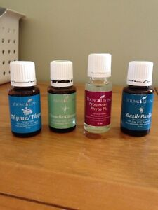essential oils- young living