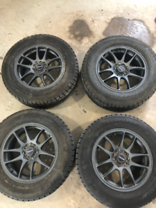 Winter Tires on Rims for Mitsubishi RVR
