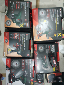 New Parkside X20V Team tools brand new cordless multi tool hammer dril