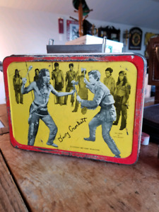 "1955 Davy Crockett  Lunch Box NoThermos  ""ESTATE LIQUIDATION"""