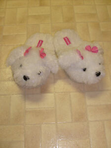 Women's Dog Slippers (size 5-6)