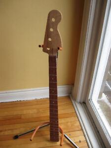 Beautiful Fender Jazz bass style 4 string neck Bubinga $200
