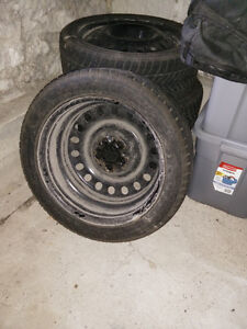 Winter Tires is Great Condition Peterborough Peterborough Area image 3