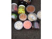 Carp fishing boilies bait pop ups package