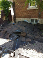 Cheap Shingle removal / garbage and renovation debris
