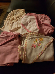 5 baby towels
