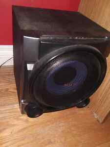 Sony stereo, speaker and bass  Stratford Kitchener Area image 2