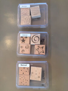 StampinUp Small Background Stamps