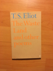 Book: The Waste Land and other Poems