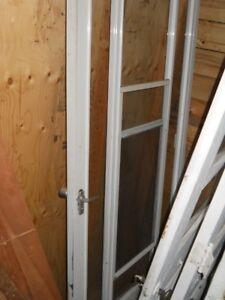 Screen door only**WOOD DOORS are SOLD**