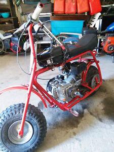 7hp mini bike / 125cc 2 stroke go kart motor