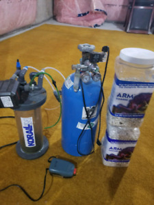 Reef controler, calcium reactor, return pump