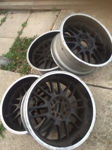 Rims and tires, 275 55 R20 Cambridge Kitchener Area image 1