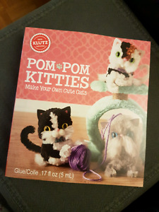 Pom Pom Kitties (Klutz Book)