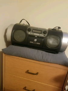 Jvc boombox with dual subwoofers for sale