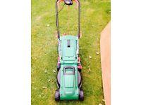 Qualcast 1400w electric mower.