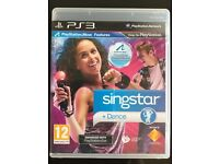 Sony PlayStation 3 PS3 Singstar + Dance (PlayStation Move compatible)