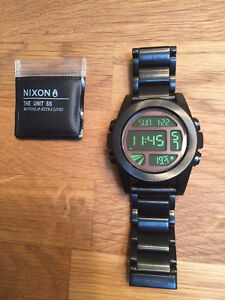 "Nixon ""The Unit SS"" digital watch"
