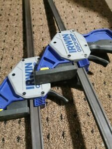 """Quick-Grip Irwin 24"""" Pressure One Handed Clamp"""