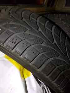 EIGHT TIRES,  FOUR RIMS, FOUR TPMS. ALL SEASON AND WINTER Kitchener / Waterloo Kitchener Area image 2