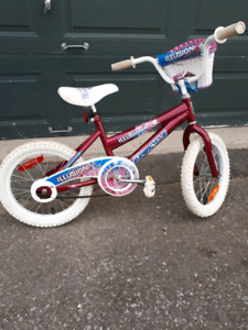 "16"" bike/bicycle  for girls/kids in excellent condition"