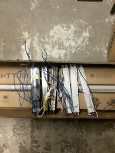T-8 tubes and ballast for sale.