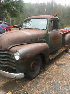 1950 Chev pickup project