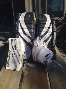 Bauer Limited Edition Goalie Pads and Gloves