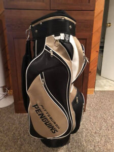 Authentic Pittsburgh Penguins  Golf Bag