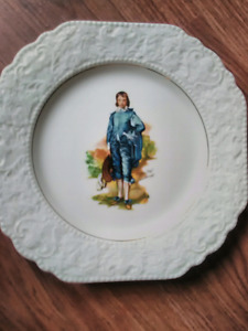 """""""Pinky"""" & """"Blue Boy"""" Collectors Plate"""