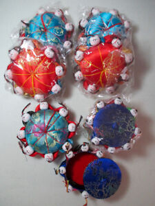 Oriental Pin Cushions & Boxes