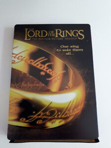 Lord of the Rings DVD set (The motion pic(Trilogy) tin case