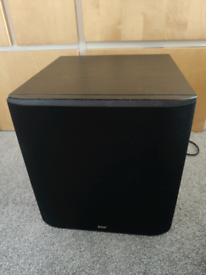 B&W ASW600 10 inch Top End Audiophile Subwoofer Sub for sale  Milton Keynes, Buckinghamshire