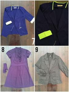 Dresses, Blazers, Top- Simons, Les Ailes, Winners, F21- Size S/M