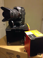 Sony A 77 Mark ii new in Box with lens 16-50 2.8 &50 mm 1.8