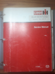 Case IH 303 and 400 Series Diesel Engines and Fuel System Manual