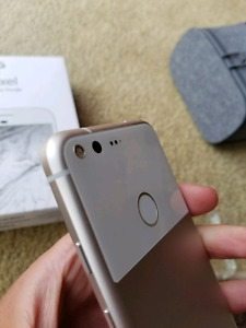 Like new Unlocked  Google Pixel with extras