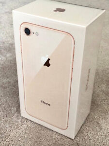 iPhone 8 Rose Gold 64GB Brand New in Box