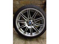 "BMW 225M Alloy Wheel - Crack repaired rear 19"" 225/30R19 Y 91"