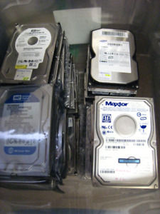 SATA Hard Drives for desktop & SAS and SCSI for Servers